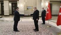 Büyükelçilerden Erdoğan'a güven mektubu(video)