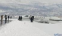 Cessna CitationJet/M2 tipi özel uçak pistten çıktı