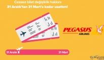 Cezasız bilet değişiklik hakkından faydalanın!(video)
