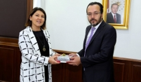 Çıldır Havalimanı Genel Müdürü'nden Rektör Bircan'a Ziyaret