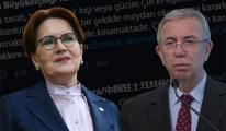 Çin Büyükelçiliği'nden Mansur Yavaş ve Meral Akşener'e tehdit gibi tweet