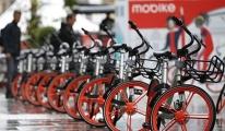 Çin'de Bisiklet Paylaşımı 50 milyon