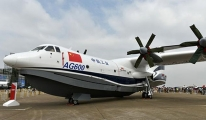 Çin'in Yeni Amfibik Uçağı Kritik Testi Geçti