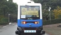 Çin Sürücüsüz Otobüs Geliştirdi