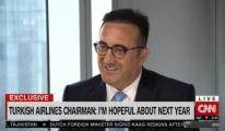 CNN International, Türk Hava Yolları'nın başarısını İlker Aycı'ya sordu