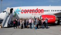 Corendon Airlines 100 Bin'inci Kez Uçtu
