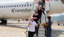 Corendon Alanya'ya ilk uçuşunu yaptı!