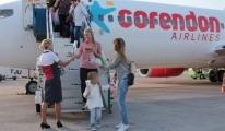 Corendon Rusya'dan Türkiye'ye İlk Seferini Yaptı