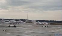Çorlu Atatürk Havalimanı'nda, uçuşlara ara verildi