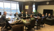 Çorlu Havalimanı Güvenlik Komisyonu Toplantısı Yapıldı
