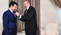 Cumhurbaşkanı Aliyev'den Selçuk Bayraktar'a madalya