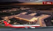 Cumhurbaşkanı Erdoğan 3. Havalimanı'nı ziyaret edecek!video