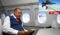 Cumhurbaşkanı Erdoğan, İstanbul'a böyle geldi