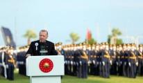 Cumhurbaşkanı Erdoğan, MSÜ Deniz ve Hava Harp Okulu Töreni'nde konuştu
