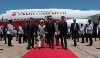 Cumhurbaşkanı Erdoğan Paraguay'da!