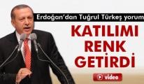 Cumhurbaşkanı Erdoğan: 'Tuğrul Türkeş Renk Getirdi'