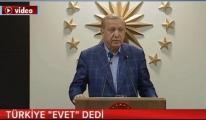 Cumhurbaşkanı Erdoğan, zafer konuşmasını yaptı!video