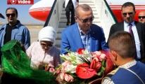 Cumhurbaşkanı Recep Tayyip Erdoğan Gaziantep'te