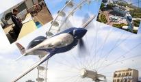 Dakikada yaklaşık 2.400 devir pervane hızı(video)