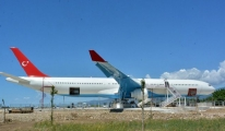 'Deli Mayk'Airbus A340 Biri Restoran Oldu