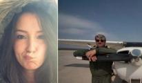 Denizli'de düşen uçaktan acı haber