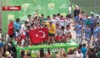 Devler Ligi Barcelona'da THY U-16 Takımı 3.oldu