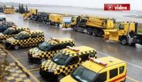 DHMİ Karla Mücadele İçin Yeni Araçlar Aldı video