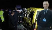 DHMİ personeli trafik kazasında hayatını kaybetti!