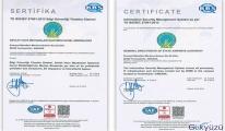 DHMİ'ye Bilgi Güvenliği Yönetim Sistemi Sertifikası!