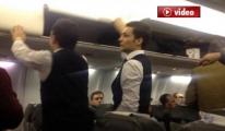 Diyarbakır Uçağında Silah Alarmı  video
