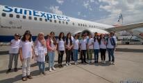 Diyarbakırlı çocuklar SunExpress ile Antalya'da