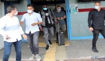 Djaniny Semedo'nun Trabzon Havalimanı'ndan görüntüleri