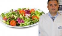 Dr. Özkan Uysal, Bol sebze ve ölçülü meyve tüketin