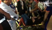 Drone Kalabalığın Üzerine Düştü: 6 Yaralı