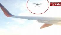 Drone Uçağın Kanadına Carptı