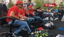 Drone Manya Yarışlarının İlki Ataşehir'de Yapıldı