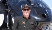 Dünyada tek helikopter akrobasi pilotu