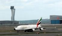 Dünyanın en büyük uçağı İstanbul'da #video