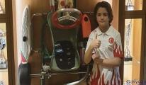 Genç milli karting pilotu Alp'ten 'Evde kal' mesajı
