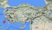 Ege'de 1 Saatte 9 Deprem