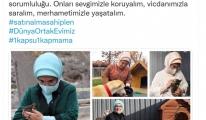Emine Erdoğan: Can dostlarımıza destek olmak hepimizin ortak sorumluluğu
