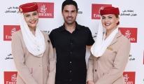 Emirates, Arsenal Teknik Direktörü Mikel Arteta'yı ağırladı