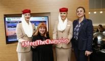 Emirates Havayolu'ndan İstanbul Open Sürprizi
