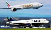 Emirates ile Azul Ortak Uçuş Anlaşması İmzaladı