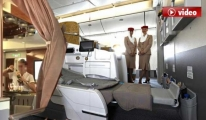 Emirates'in Business Class'ında Sahtekarlık Video