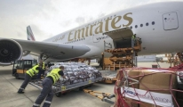 Emirates ve Airbus'tan yardım uçuşu