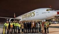 Emiretes 777 İle Sabiha Gökçen'e İlk Seferini Gerçekleştirdi