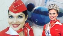 En güzel hostes Polina Smetanina seçildi
