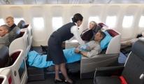 En keyifli uçuş 'business class'ta!