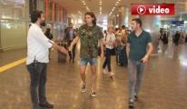 Enes Ünal'a Havalimanı'nda Şok Gözaltı video